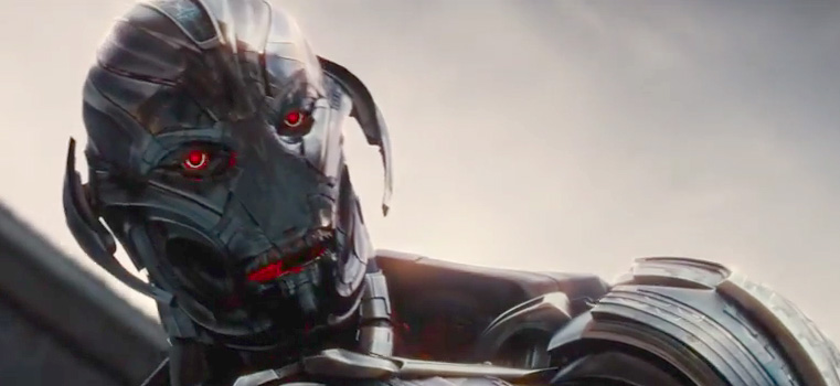 Ultron, voiced by James Spader, is the latest nemesis that the Avengers must unite to do battle with.