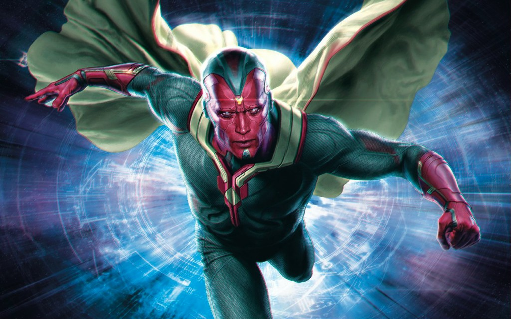 Amongst the new heroes to join forces with the Avengers is the Vision, portrayed by Paul Bettany.