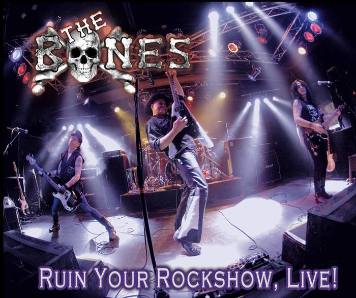 Ruin Your Rockshow Live is the second album from the Bones, recorded live and comprised of cover songs.