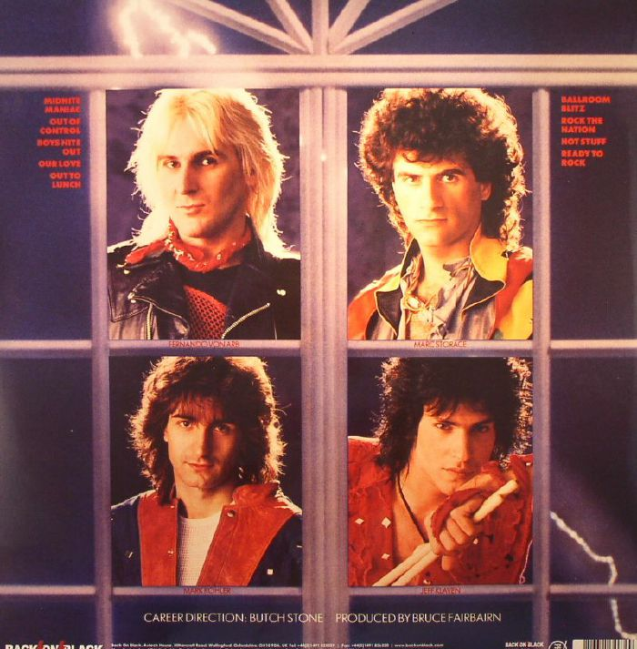 The Blitz, released in 1984, is amongst the best records in the entire Krokus catalogue.... yet the band criminally neglected it in this 75 minute set.