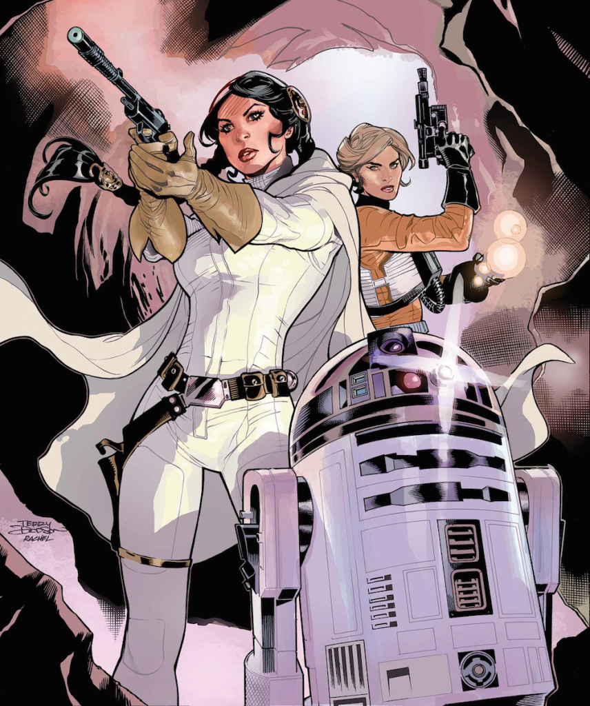 Leia's adventures in these new comics feature old and new faces alike.
