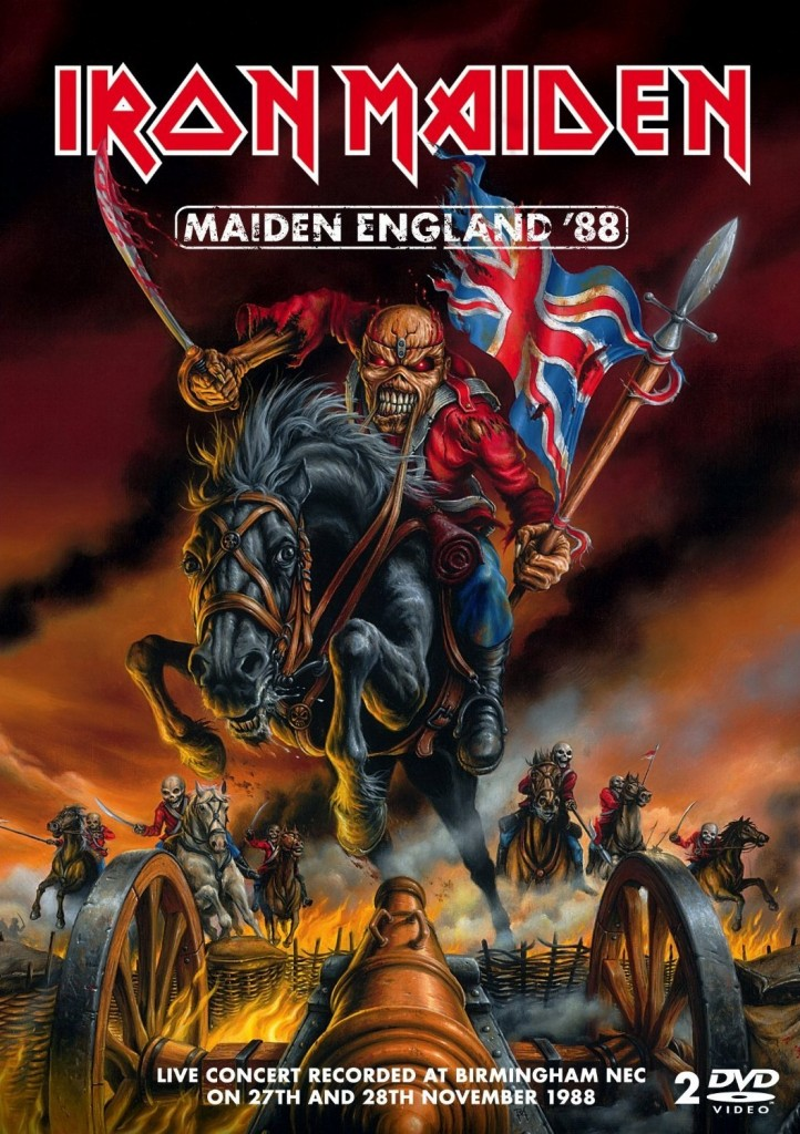 Maiden England '88 features a November 1988 concert from the band's iconic Seventh Son of a Seventh Son tour.