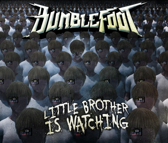 Little Brother is Watching is the tenth solo album from Bumblefoot, and his first full-length record of original material since 2008.