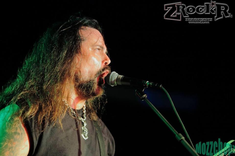 Deicide vocalist Glen Benton.