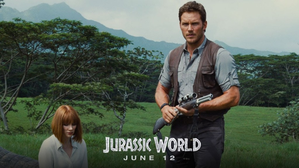 Chris Pratt plays the major stand-out amongst the film's human characters.