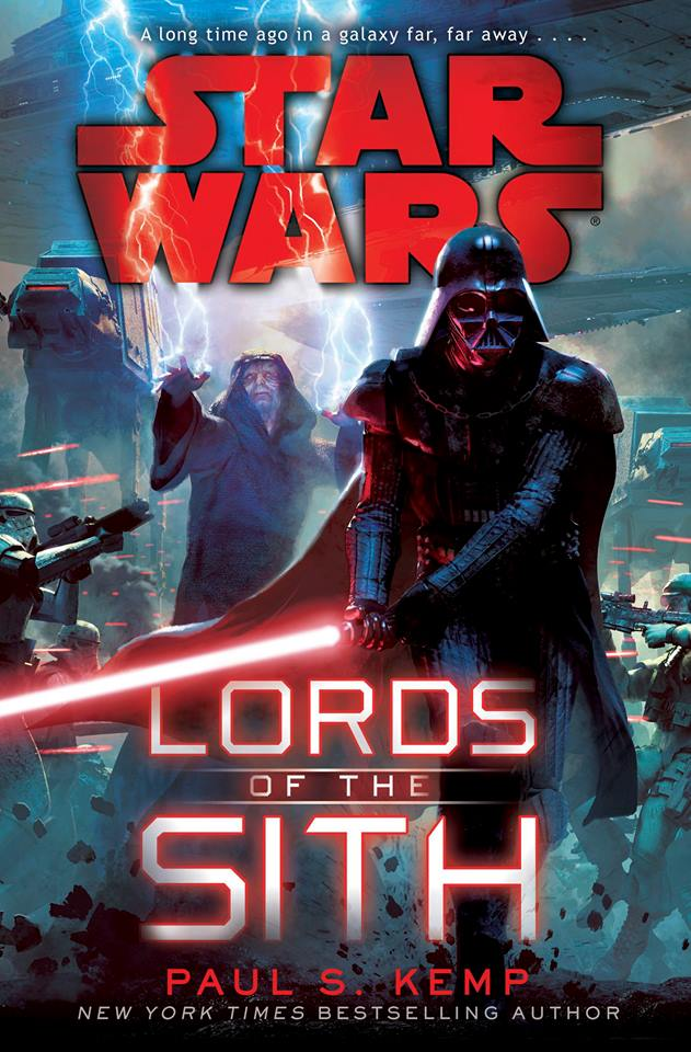 Lords of the Sith is the latest Star Wars novel, written by Paul S. Kemp, and released in the spring of 2015.