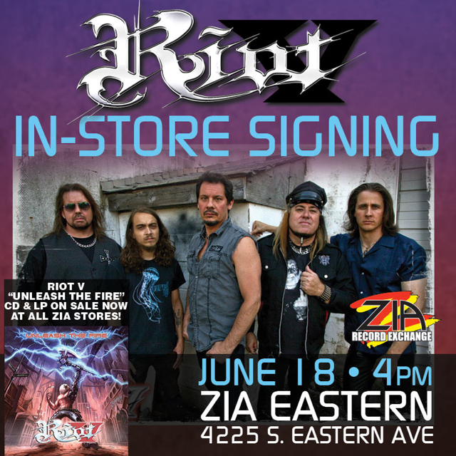 Earlier in the day, the band did an autograph signing at Zia Record Exchange's Eastern store.