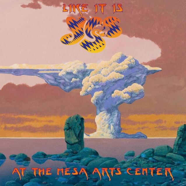 Like it Is - At the Mesa Arts Center is the latest live release from Yes.