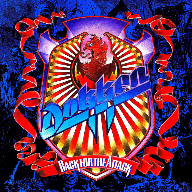 Back for the Attack is the fourth studio album from Dokken, released in 1987. Rock Candy Records reissued the album in 2014.