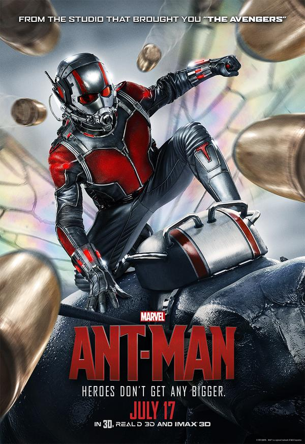 Ant-Man was released in July 2015 as the 12th Marvel Cinematic Universe film.