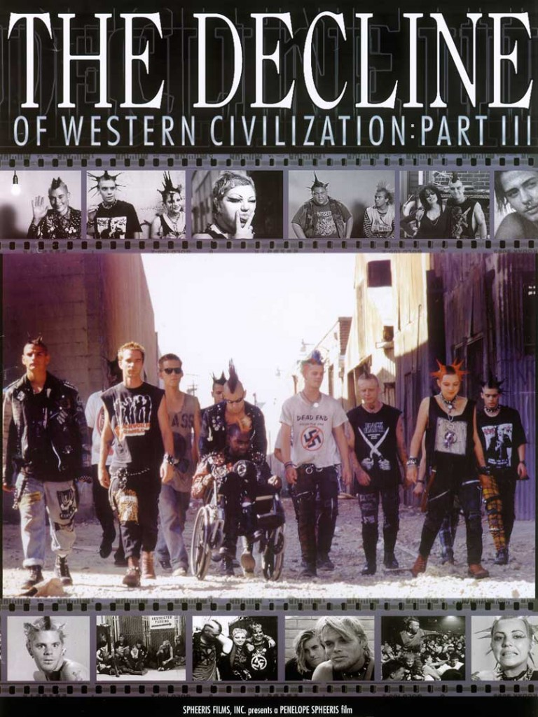 The Decline of Western Civilization Part III was the third and final film of the series, released in 1998.