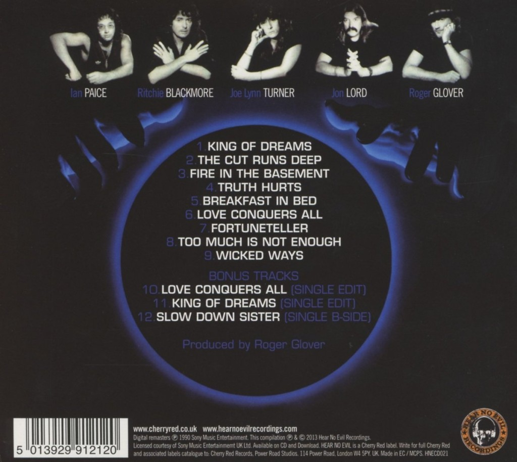 "This Deluxe Edition of the album includes three bonus tracks. Bonus tracks differ from edition to edition of the album; not all ""Deluxe"" versions in all countries have the ""King of Dreams"" single edit."