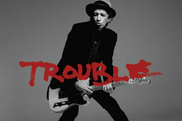 """Trouble"" is a single from Keith Richards, released in July 2015."