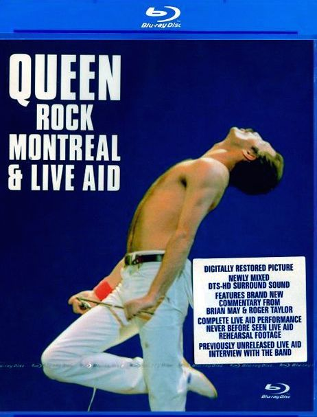 Queen Rock Montreal was released in Blu-ray Disc in 2007 by Eagle Rock. The disc features a classic 1981 performance from the band.