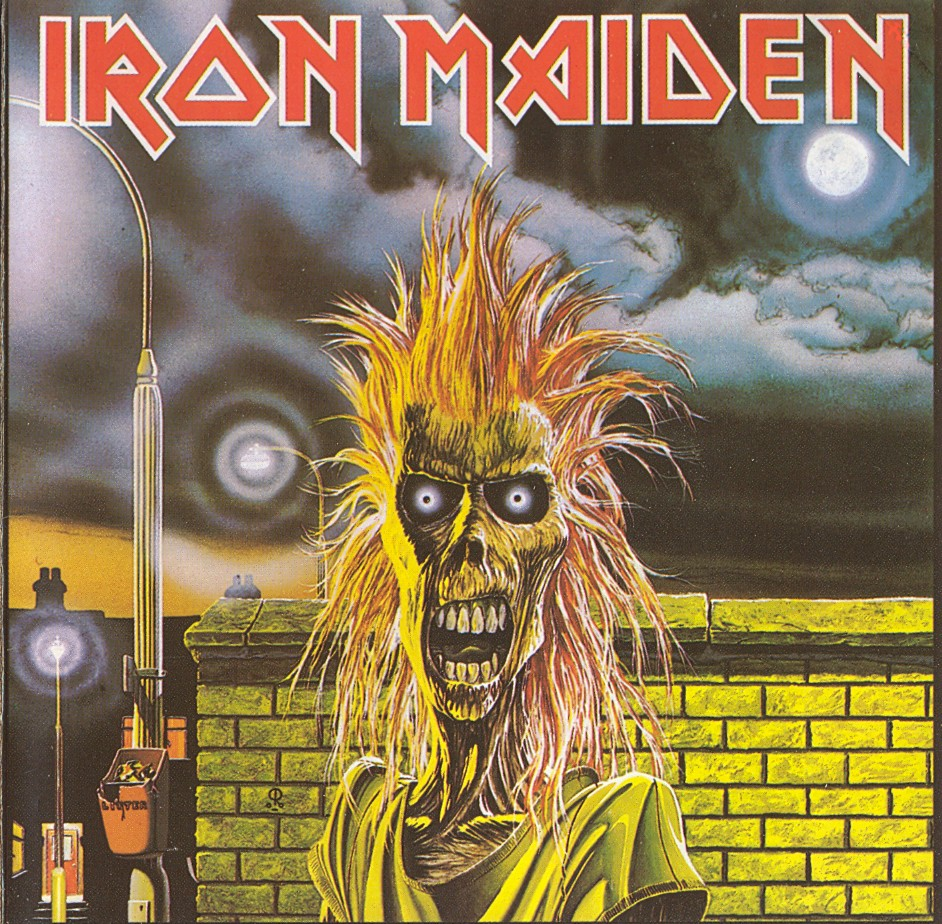 Iron Maiden's self-titled debut was released in 1980.