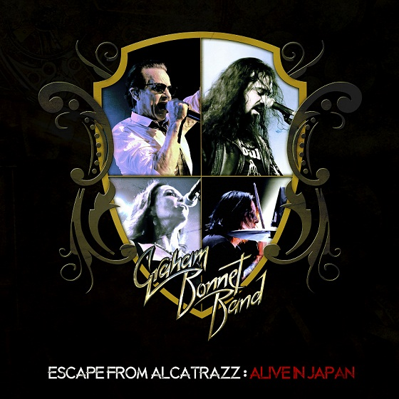Escape from Alcatrazz is the new live EP from the Graham Bonnet Band, available for streaming and download.