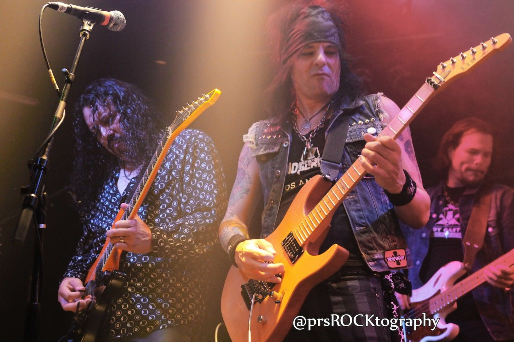 Let it Rawk's guitar legends, Oz Fox and Stacey Blades!