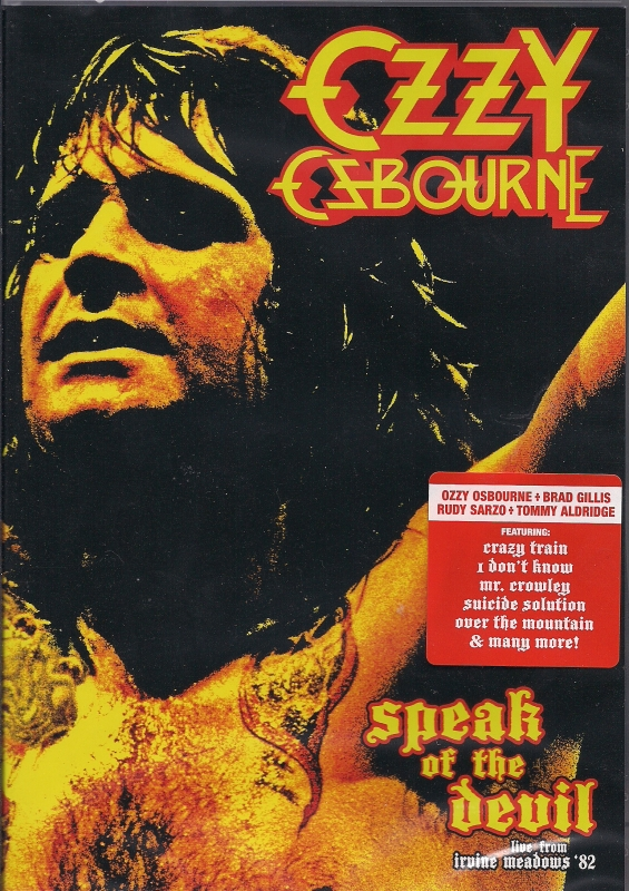 The Speak of the Devil video concert was released on DVD by Eagle Rock Entertainment in 2012.
