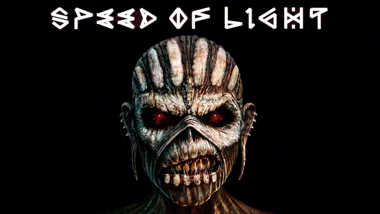 """Speed of Light"" is the first single from Iron Maiden's forthcoming studio effort, The Book of Souls."