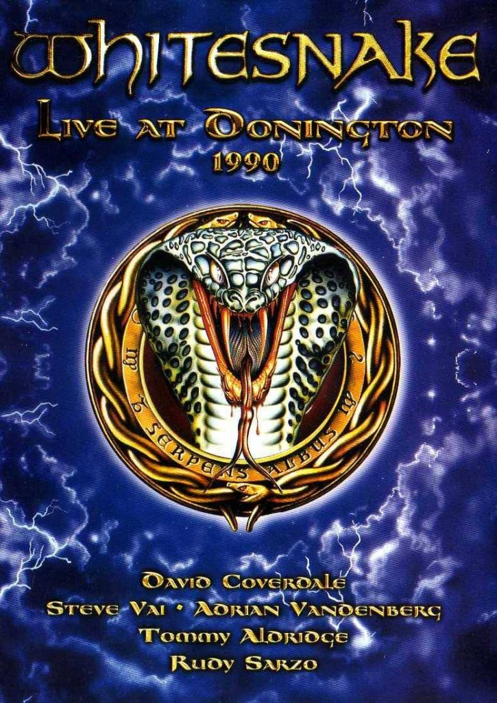 Whitesnake Live at Donington 1990 finally got an official CD/video release in 2011, featuring the band playing at the legendary Monsters of Rock festival.