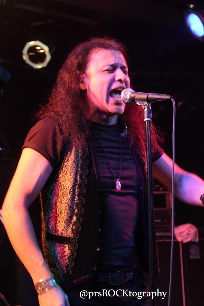 Vocalist Oni Logan, who can also be heard these days in Dio Disciples.