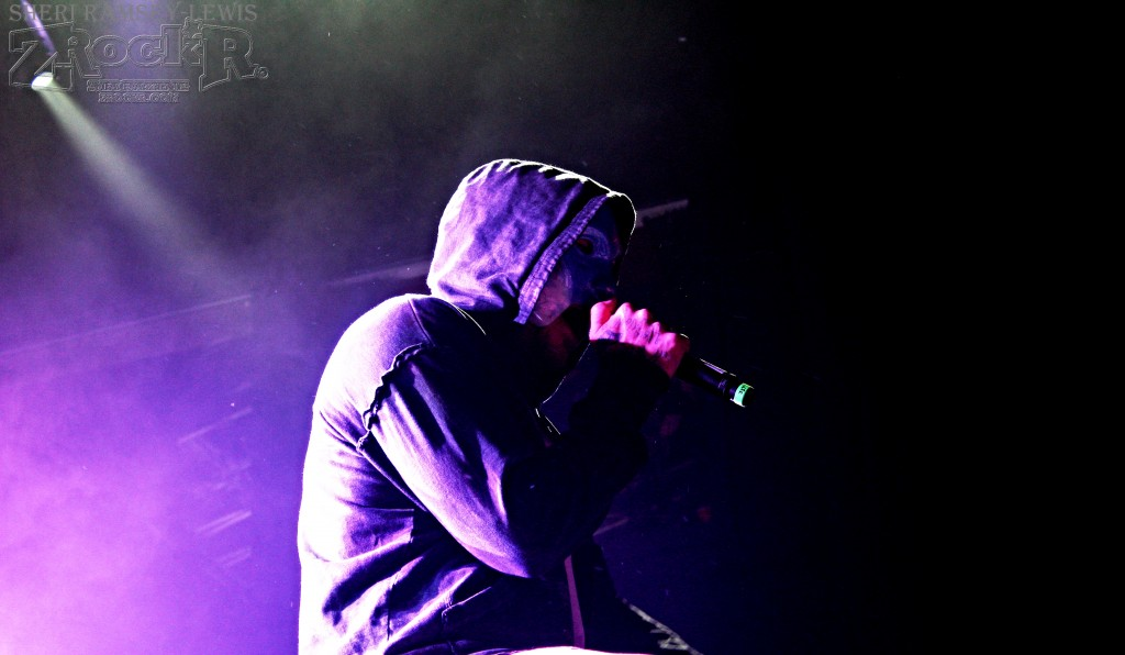 Johnny 3 Tears of Hollywood Undead performing at House of Blues-Las Vegas!