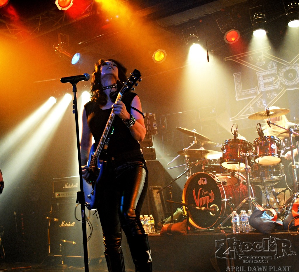 Leona X onstage at Vampd