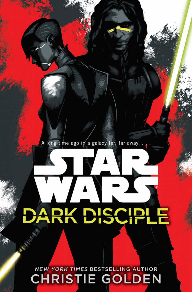 Dark Disciple is a Star Wars novel from Christie Golden, based on unused scripts from the Clone Wars series.