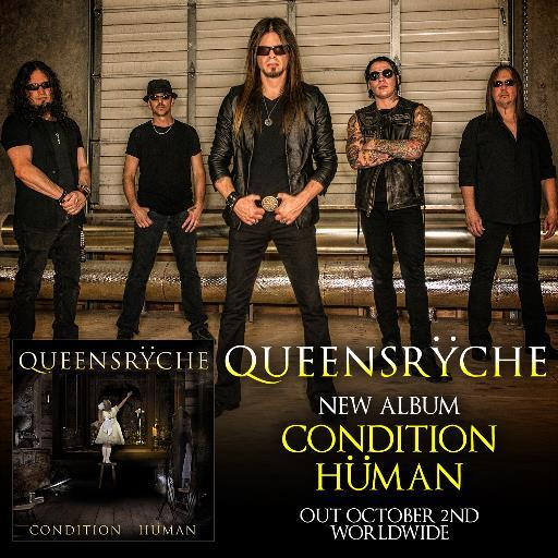 Condition Human is Queensryche's latest record, and the second with Todd La Torre on vocals. it is their first album since the 2013 self-titled release.
