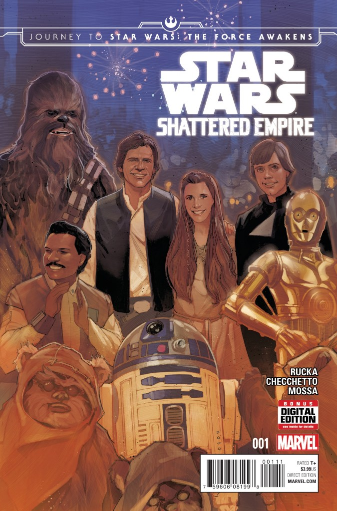 Star Wars Shattered Empire is the latest in Marvel's Star Wars comic line, and the first post-Return of the Jedi comic set in the new canon.