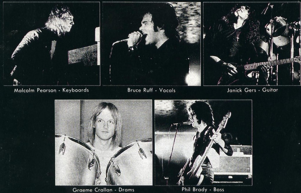Photos of the band members.