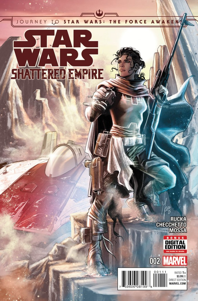 The second installment of Shattered Empire will be released in the near future. It is slated to run for four issues total.