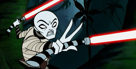 This series marks the debut of the Asajj Ventress character, who has since gone on to become a fan favorite.