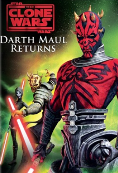 The Clone Wars featured Darth Maul's return, refitting him with metallic legs and taking revenge on the galaxy.