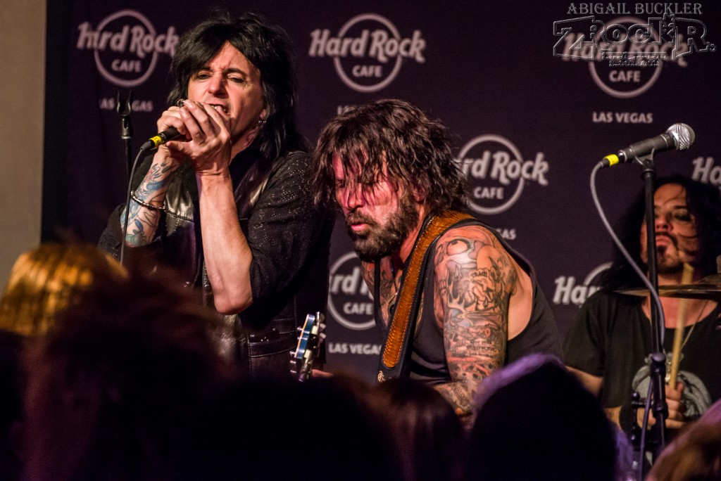 Phil Lewis and Tracii Guns- together again for this special night!