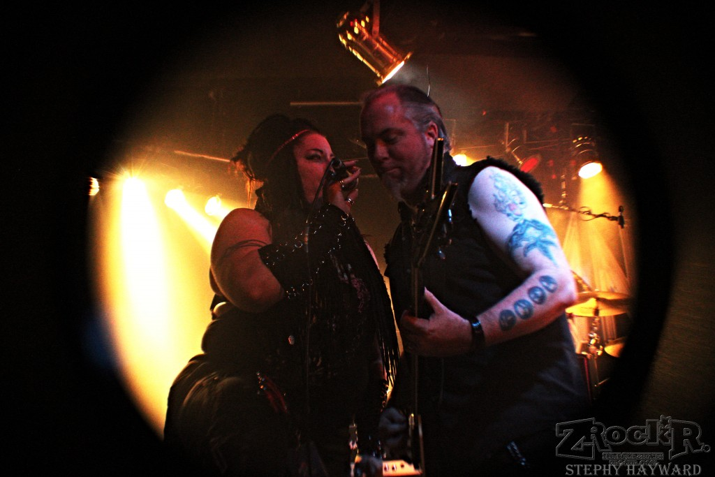 Cyanide's Miranda Trenholm with special guest Jerry Vayne.