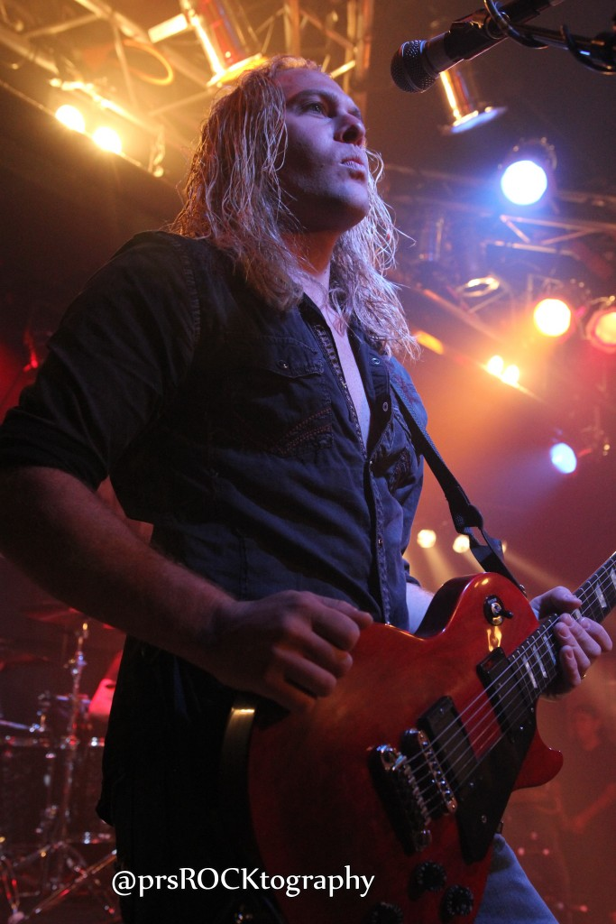 Guitarist Chris Sanders.