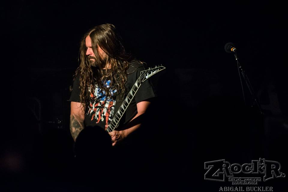 Andreas Kisser of Sepultura shredding the LVCS stage!