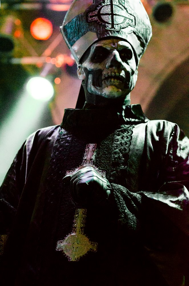 Papa Emeritus II at House of Blues Las Vegas-April 2014.