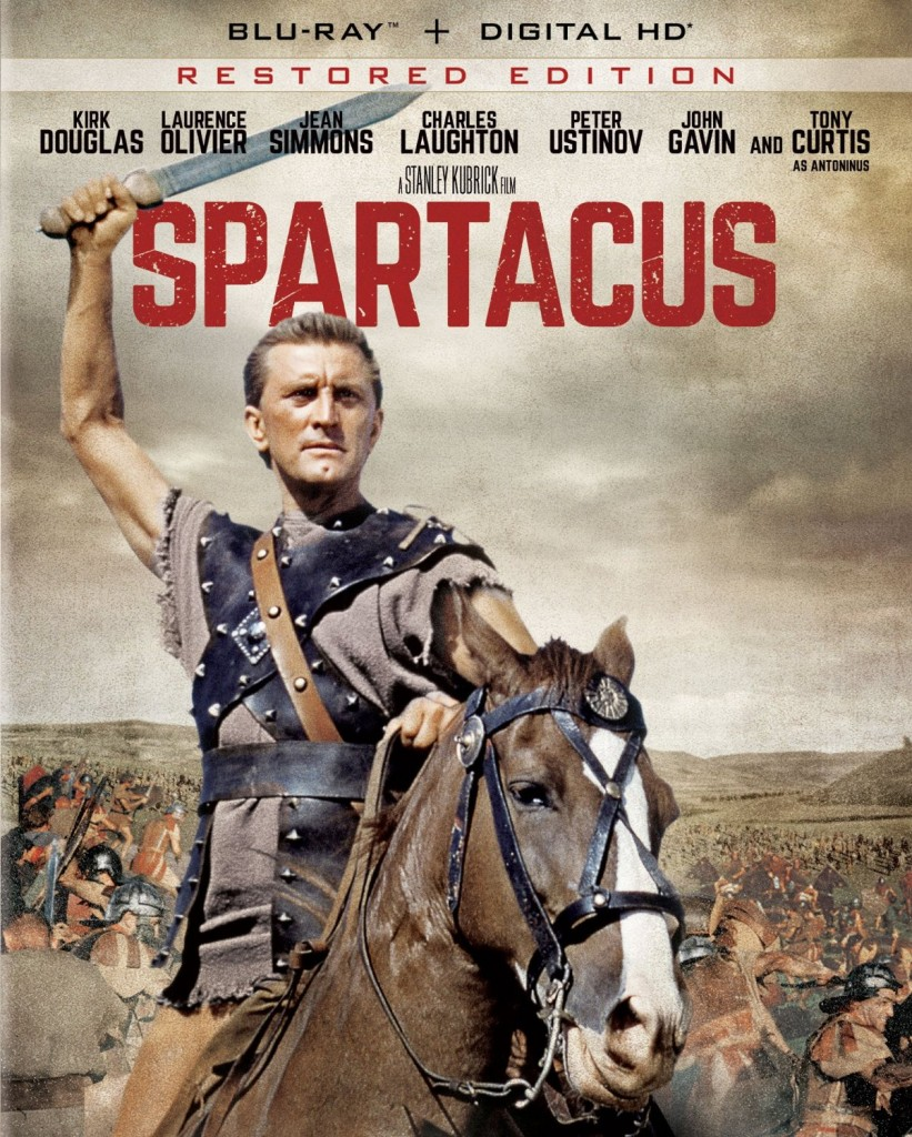This 2015 marks the second release of Spartacus on Blu-ray Disc, following a 2010 disc that received mixed reviews.