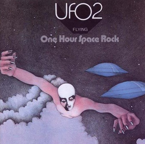 UFO 2 - Flying (with the subtitle of One Hour Space Rock) was the band's second studio album, released in 1971.