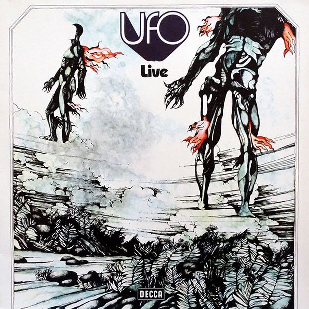 Live was UFO's first live album, released as a follow-up to the first two studio works. It was initially only released in Japan, but was later issued in other territories under alternate titles.