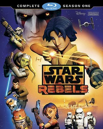 This Blu-ray Disc set features the complete first season of Star Wars Rebels, along with new bonus materials.