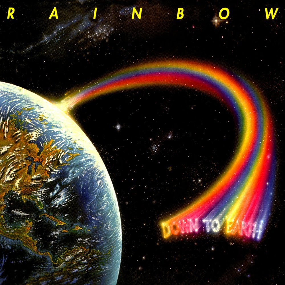 Down to Earth was released by Rainbow in 1979. It was their fourth studio album, and the first to not feature Ronnie James Dio on vocals.