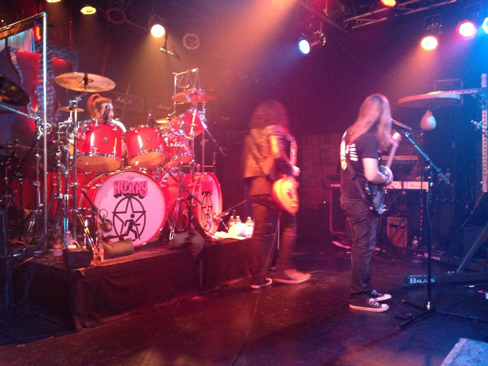 Hurry - the Rush tribute, rocking the Vamp'd stage!