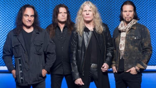 Resurrection Kings official band press shot. Copyright to the band/original photographer. From left to right: Vinny Appice, Craig Goldy, Chas West, Sean McNabb