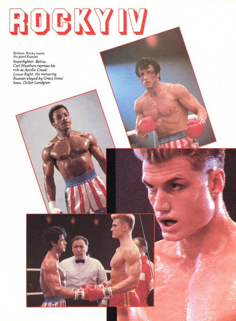 Steely eyed antagonist Ivan Drago, played brilliantly by Dolph Lundgren, is one of Rocky IV's best assets, even if other elements of the film are less than stellar.