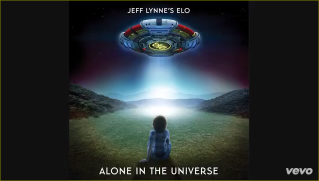 Jeff Lynne's ELO - Alone in the Universe. This marks the first album of original material under the ELO name since 2001's Zoom.