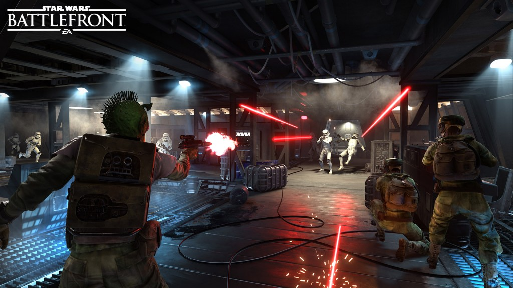 Travel across the Star Wars galaxy, taking both the Rebel and Imperial sides in epic battles.