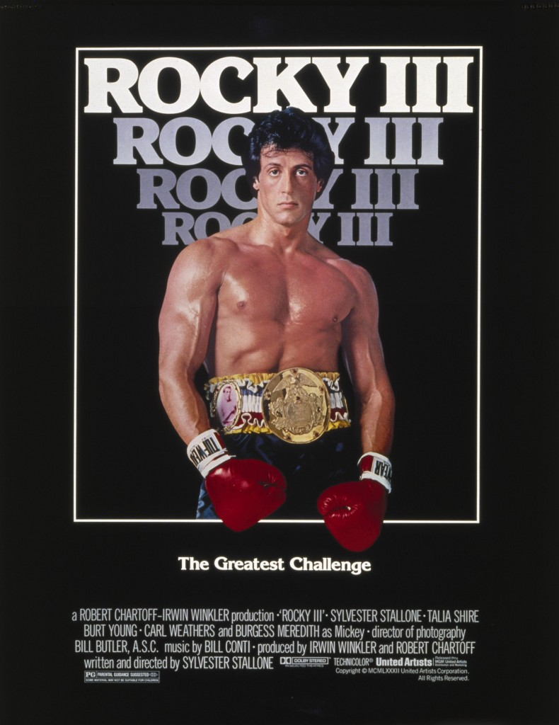 Rocky III was released in theaters in 1982. It marked several steps forward for the series, as well as its characters.